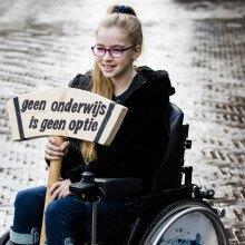 Marie-Claire Lanser NPO 1 - Geen onderwijs is geen optie